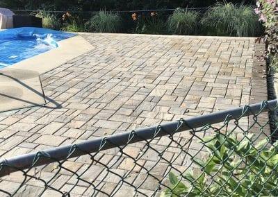 New Poolside Patio and Walkway
