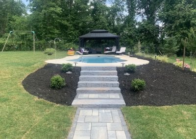 Pool and New Landscape Install