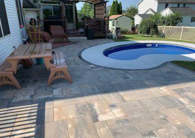 Pool Patio & Walkway